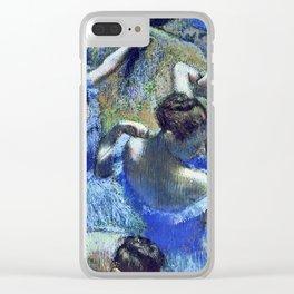 Edgar Degas - Blue Dancers Clear iPhone Case