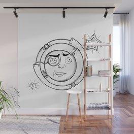 Motor Moon Wall Mural