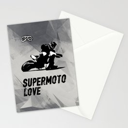 Supermoto Love Stationery Cards