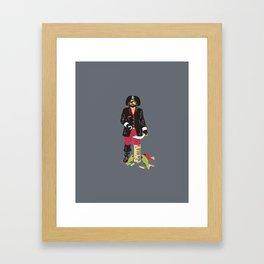 Long John Jenga Framed Art Print