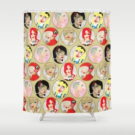 Cyber Tales Shower Curtain