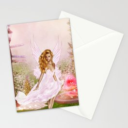 Pink Opal Stationery Cards