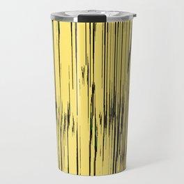 ikat stripes as sunny rays Travel Mug