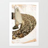 sail Art Prints featuring Sail by WILL RHODES