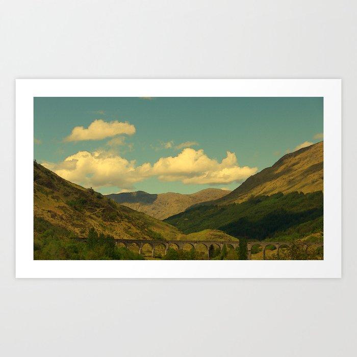 The Glenfinnan Viaduct Art Print