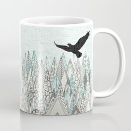 mountains high sky Coffee Mug