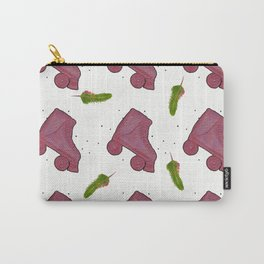 Pink and roll Carry-All Pouch