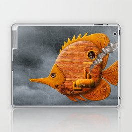 Steampunk Butterflyfish II Laptop & iPad Skin