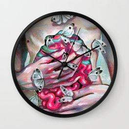 Butterflies Effect Wall Clock