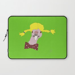 Spunky Turkey Yellow Hair GB Laptop Sleeve