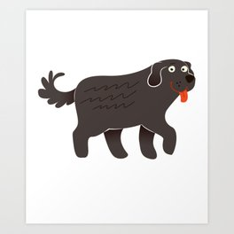 Big Newfoundland Art Print