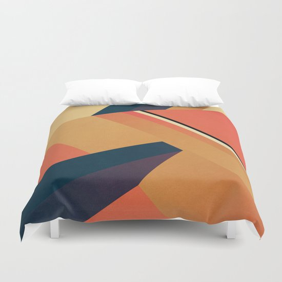 Abstract #109 Duvet Cover