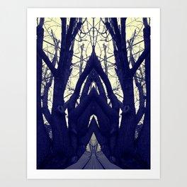 Lost in the Dark Art Print