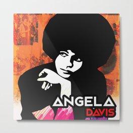 Davis Angela Metal Print