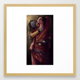 Dragon Age 2: Isabela and Hawke - Pirate Booty Framed Art Print