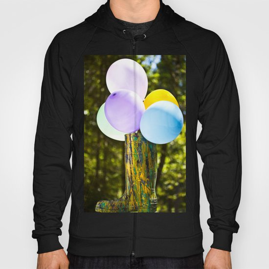 Boot And Balloons Hoody