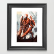 Mantis Framed Art Print