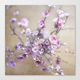 Purple Willow Canvas Print