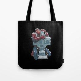 Lovely Spider-Man hug Stan Lee Tote Bag