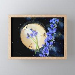 The Bluebells And Gold Fleet Framed Mini Art Print