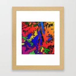 External influences Framed Art Print