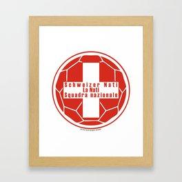 Switzerland Schweizer Nati, La Nati, Squadra nazionale ~Group E~ Framed Art Print