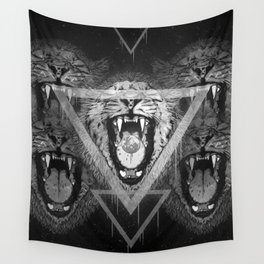 a moon for breakfast (monochrome series) Wall Tapestry