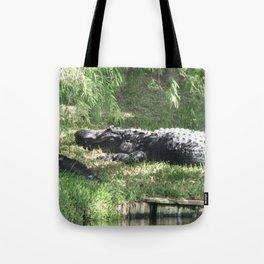 Papa Gator Tote Bag