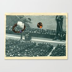 Cutters Football in Moscow Print Canvas Print
