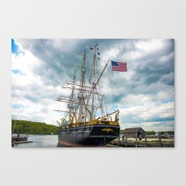 The Last Ship Canvas Print