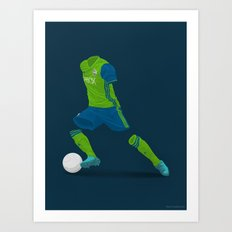 Seattle Sounders 2016 - MLS Cup Champions Art Print