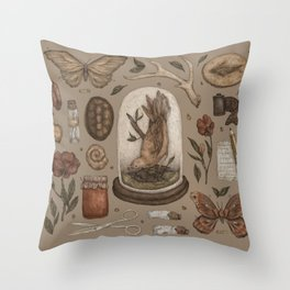 Preserved Memories Throw Pillow