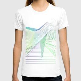 Geometric fantasy T-shirt