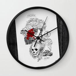 Peace & War Wall Clock