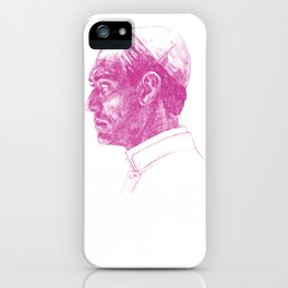 The Young Pope Portrait iPhone Case