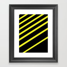 Simple Shapes Series Framed Art Print