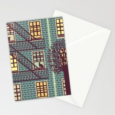 the fly (night) Stationery Cards