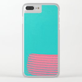 who is going to open jars for me now? Clear iPhone Case