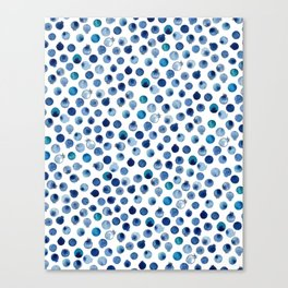 Blueberry Love Canvas Print