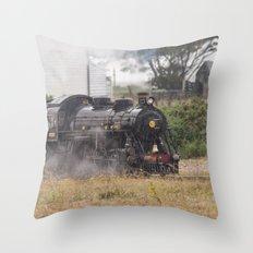 Train In Dungeness Kent Throw Pillow