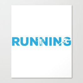 Running  Sport in the Name Canvas Print