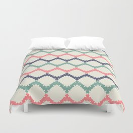Thinking About Azulejos Duvet Cover