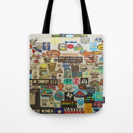 My Cool Decals - Travel Stickers Tote Bag