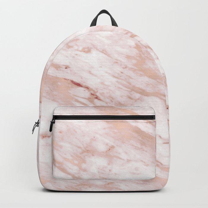 Grandiose rose gold marble Backpack