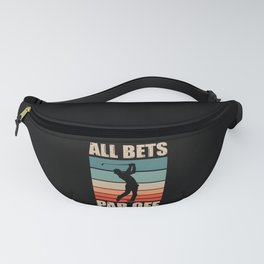 All Bets Par Off Funny Golfing Golf Player Fanny Pack