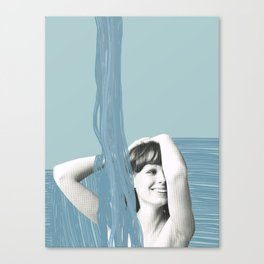 Showertime Canvas Print