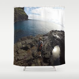 Lord Howe Island Shower Curtain