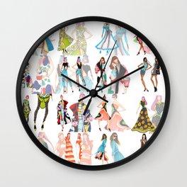 Instagram Tiles Wall Clock