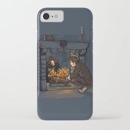 The Witch in the Fireplace iPhone Case