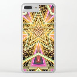 Time Travel Machine Clear iPhone Case